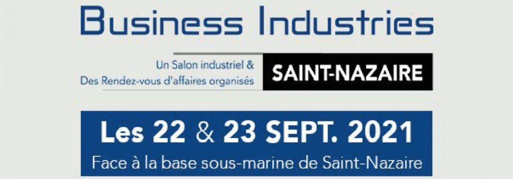 Salon industriel et sous-traitance Business Industries à Saint-Nazaire 2021